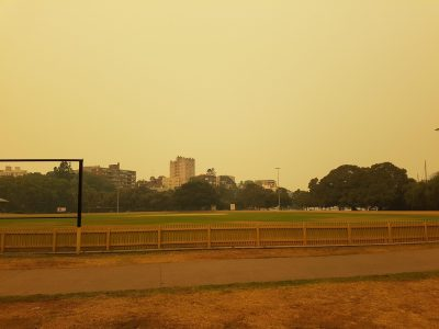 Australia is burning. In Sydney, no one cares.