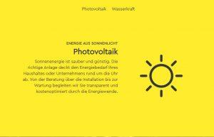 Texte Webseite Solarenergie Homepage Werbetexte Ökostrom