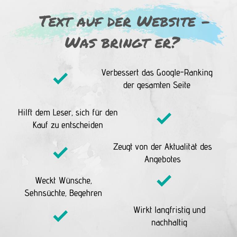 Guter Text Website Texter Website gesucht